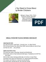 Growing Broilers Darre