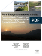 591f Rural Energy Alternatives in India