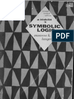 An Introduction to Symbolic Logic - Susanne K. Langer