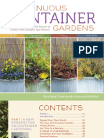 Continuous Container Gardens — Book Layout and Design (sample pages)