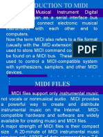 Introduction to MIDI - Copy.ppt