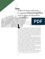 ernocoreografía aridoamérica