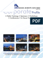 Mawa Events SDN BHD - In House Profile