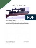 QB78 CO2 Air Rifle Tuning | Gun Barrel | Screw