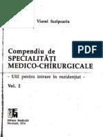 vol 2 Compendiu de Specialitati Medico-chirurgicale Rezidentiat 2016