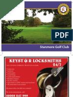 Stanmore Golf Club Brochure 2010