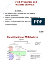 Properties and Application of Metals