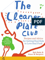 The Cleaner Plate Club — Book Layout and Design (sample pages)