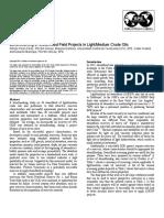 Benchmarking of Steamflood Field Projects in LightMedium Crude Oils