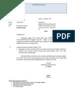 Surat Permohonan Pekerjaan Tambah Kurang