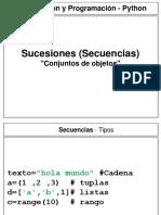 Python Secuencias