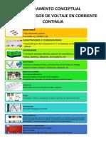 Fundamento Conceptual de Circuito Divisor de Voltaje en Corriente Continua