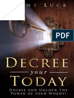 Decree Your Today - Brent Luck