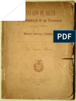 Anuário de Belém Em Comemoração Do Seu Tricentenário, 1616 a 1916