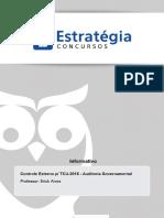 Extra Ri Auditoria Governamental Tribunal de Contas Da Uniao Controle Externo p Tcu2015 Auditoria Govername
