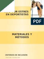 Fx's Por Estrés en Deportistas