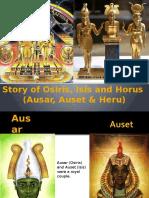Story of Osiris, Isis and Horus