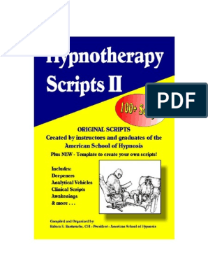 Hypnosis Scripts 2 | Relaxation (Psychology) | Hypnosis