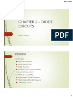 Chapter 2 - Diode Circuits [Clippers]