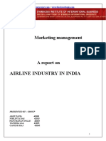 Airline Industry india