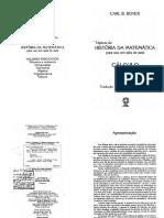 Topicos de Historia Da Matematica Calculo - Portugues