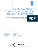 The Collaboration Between Formal and Informal Carers in Dutch Long-term Care