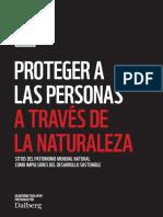 Informe Patrimonio Natural en Riesgo