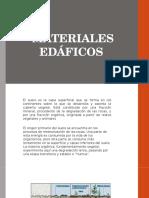 MATERIALES EDÁFICOS-