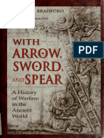 With Arrow, Sword, And Spear - A History of Warfare in the Ancient World