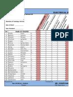 Progress Chart & Achievement Chart-eim