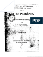 F. V. Equilbecq - Essai Sur La Litterature Mevelleuse Des Noirs