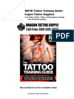 Tattoo Training Guide