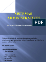 Sistemas Administrativos ( Sesion I )