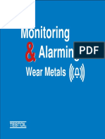 Monitoring and Alarming Wear Metals