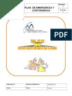 Plan de Emergencia madeal