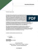 maria ortiz recommendation letter