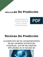 Técnicas de Predicción