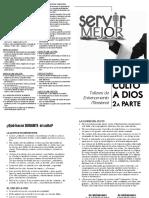Servir Mejor - 2013-08-09-Culto 2