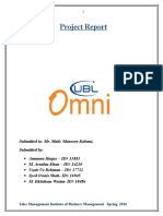 Project Report UBL OMNI Group 2