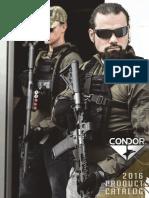 2016 Condor Catalog