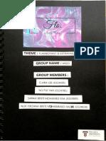 t-shirt design process scrapbook journal