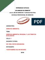 Derecho Ambiental Regional Tributos Ecologicos