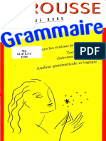 Larousse - Grammaire - Français