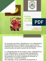 Frutos Climatéricos y No Climatéricos