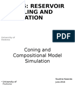 Coning and Compositional Simulation