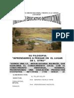 Proyecto Educativo Institucional 2009 Al 2015 (Autoguardado)