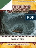 PACG 0-1 Lost at Sea
