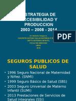 1 Estrategia Accesibilidad y Produccion 2003 Al 2008 SMI 40316