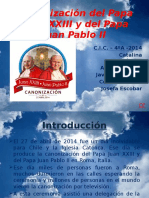 Trabajo de Investigación Religion Juan Pablo II