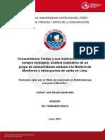 Prado Morante Jorge Consumidores